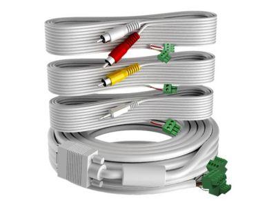 VISION Techconnect 2 - Video-/Audio-Kabelkit - VGA/Composite-Video/Audio - 10 m