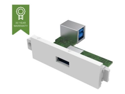 VISION TechConnect 3 USB-a module - modulares Faceplate-Snap-In