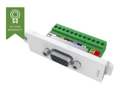VISION TechConnect 3 VGA female module - modulares Faceplate-Snap-In