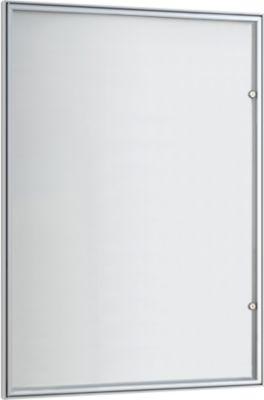 vitrinekast, model B1, zilver geelox.