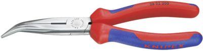 Vlakke ronde neustang 200mm in een hoek van 200mm. Hoofd verc.