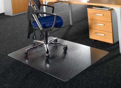 Vloerbesch.mat, rechthoekig met uitsparing, 120 x 90 cm