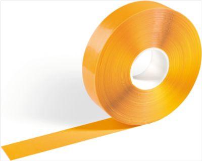 Vloermarkeringstape Durable, bestand tegen heftrucks, zelfklevend, 30 m lang, geel