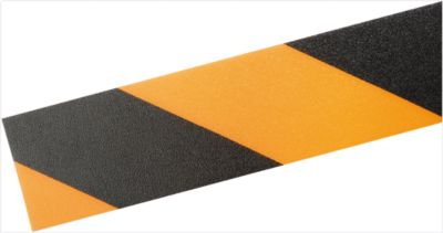 Vloermarkeringstape Durable, tweekleurig, zelfklevend, div. kleuren, 30 m lang, zwart/geel