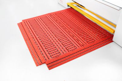 Vloerrooster Work Deck 600xnbsp;1200mm, oranje