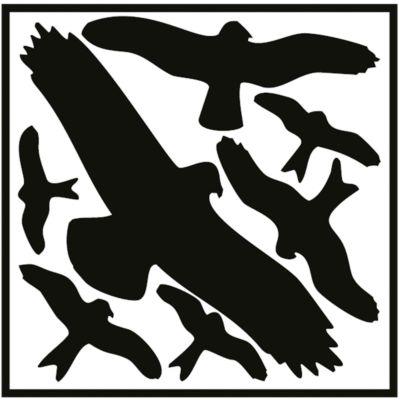 Vogelschutz-Set zum Aufkleben