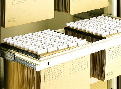 Volledig uittrekbaar hangmappenframe voor kantoorkast b 900 mm