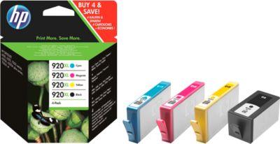 Voordeelpak : 4 HP inktpatronen C2N93AE, nr. 920XL, color