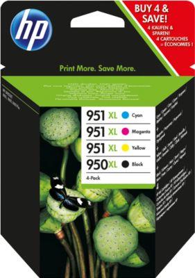 Voordeelpak 4 stuks HP inktpatronen Nr. 950/951, color (C2P43AE)