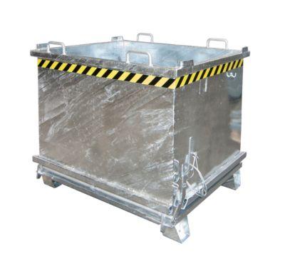 Vouwbare bodemcontainer SB 1500, gegalvaniseerd, verzinkt