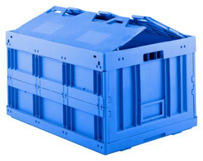 Vouwbox FK-8450, blauw, met deksl