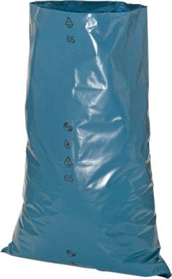 Vuilniszakken voor zwaar afval, 120 l, blauw