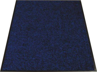 Vuilopvangmat, 600 x 900 mm, blauw