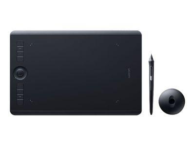 Wacom Intuos Pro Medium - Digitalisierer - USB, Bluetooth - Schwarz