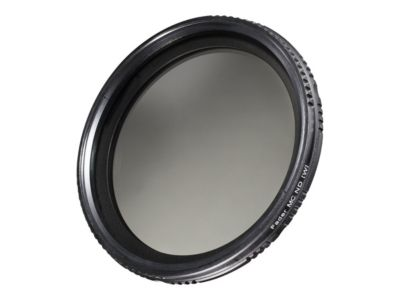 walimex pro ND-Fader ND2 - ND400 - Filter - variable neutrale Dichte - 58 mm
