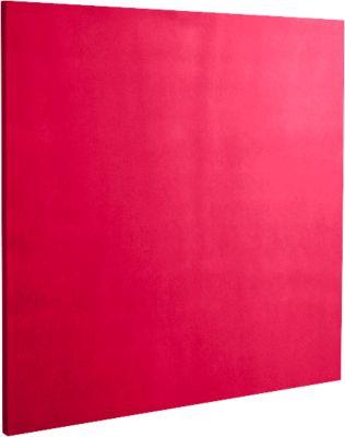 Wandabsorber Quadrat, B 500 x H 500 mm, Polyestervlies in Filzoptik, himbeerrot