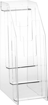 Wandfolderrek/standaard, van acryl, 1/3 DIN A4