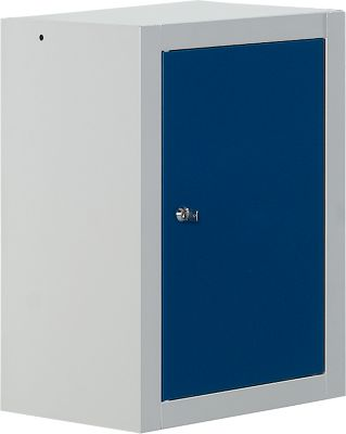 Wandkast MS 420 lichtgrijs/blauw