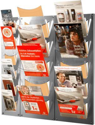 Wandmagazin, 5 Fächer DIN A4