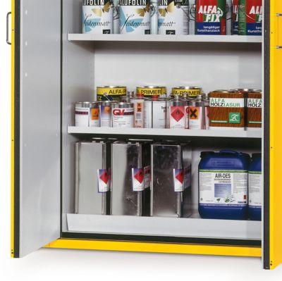 Wannenboden für Gefahrstoffschrank Typ 90, 435 x 1045 mm, lichtgrau