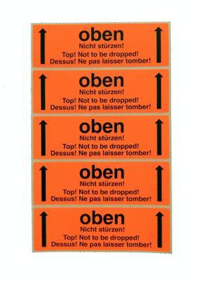 Warn- und Hinweisetiketten