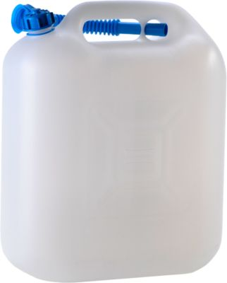 Waterjerrycan ECO 20 l, naturel, met schenktuit
