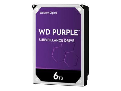 WD Purple Surveillance Hard Drive WD60PURZ - Festplatte - 6 TB - SATA 6Gb/s