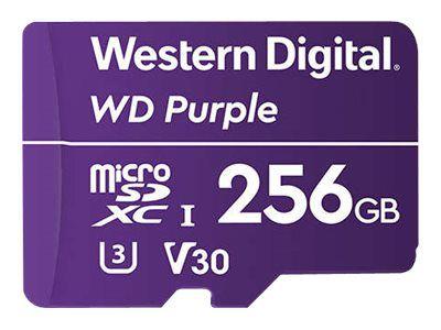 WD Purple WDD256G1P0A - Flash-Speicherkarte - 256 GB - microSDXC