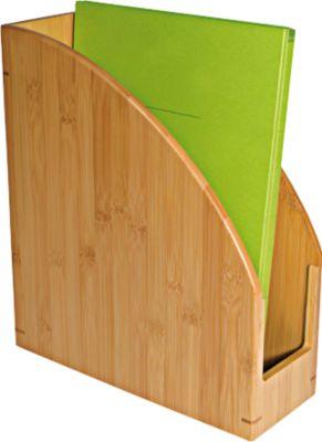 Wedo Stehsammler Bambus, DIN A4, sehr stabil