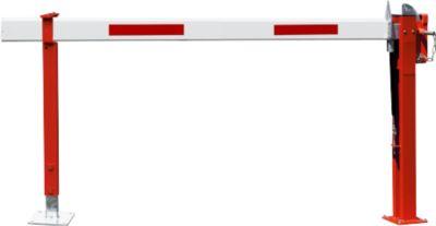 Wegesperre mit Gasdruckfeder, feste Auflagestütze, 3330 mm