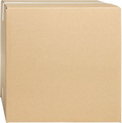 Wellpapp-Faltkartons, 1-wellig, 300 x 300 x 300 mm, braun