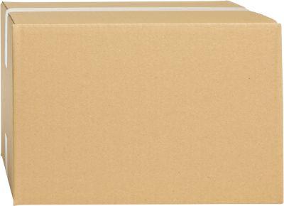 Wellpapp-Faltkartons, 1-wellig, 325 x 295 x 160 mm, braun
