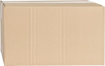 Wellpapp-Faltkartons, 1-wellig, 400 x 300 x 180 mm