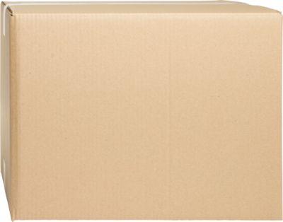 Wellpapp-Faltkartons, 2-wellig, 430 x 340 x 320 mm