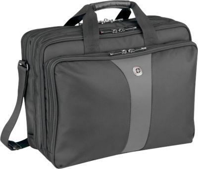 WENGER® Laptoptasche Legacy, f. 17 Zoll Laptops, 3 Taschen, Schultergurt