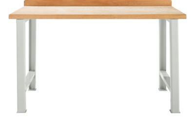 Werkbank, Grundeinheit, B 1500 x T 665 mm, lichtgrau