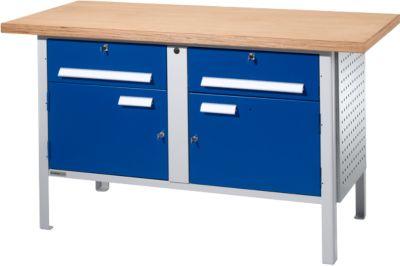 Werkbank PW 150-0 l.grs/blauw