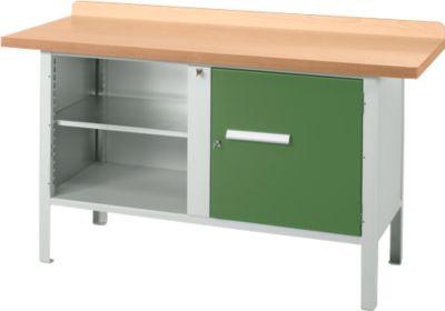 Werkbank PW 150-1, groen