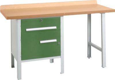 Werkbank PW 150-2, grün