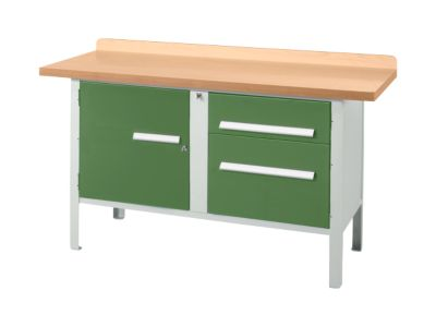Werkbank PW 150-3, grün