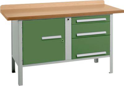 Werkbank PW 150-7, grün