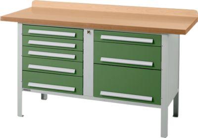Werkbank PW 150-8, grün