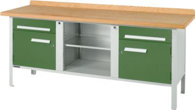 Werkbank PW 200-0, grün