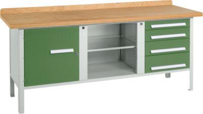 Werkbank PW 200-1, grün