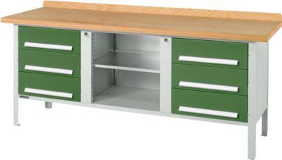Werkbank PW 200-2, grün