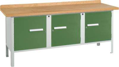 Werkbank PW 200-3, grün