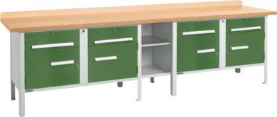 Werkbank PW 300-0 groen