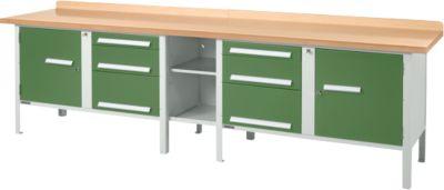 Werkbank PW 300-2 groen