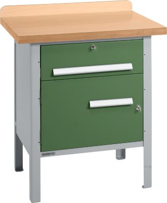 Werkbank PW 75-0, grün