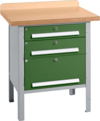 Werkbank PW 75-7, grün